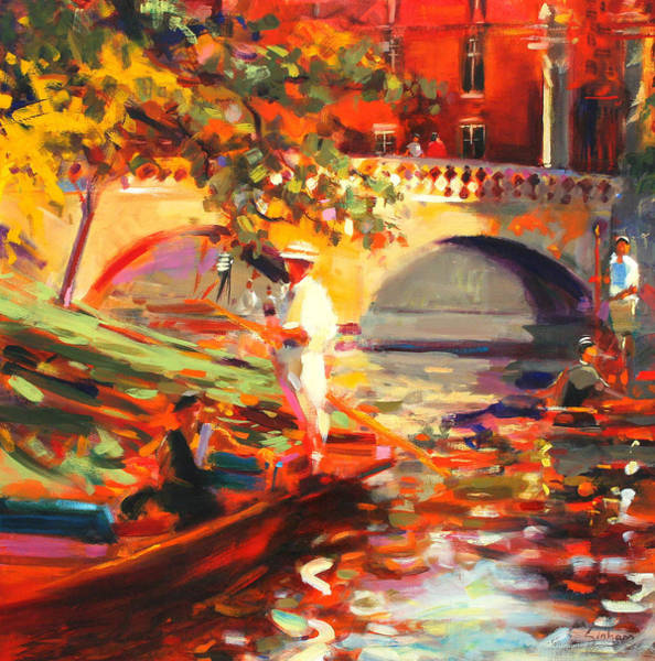 Punt Painting - The Glittering Prize by Peter Graham