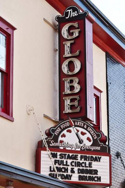 Photograph - The Globe - Berlin Maryland by Kim Bemis