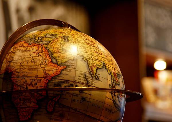 Globe Photograph - The Globe by Edward Myers