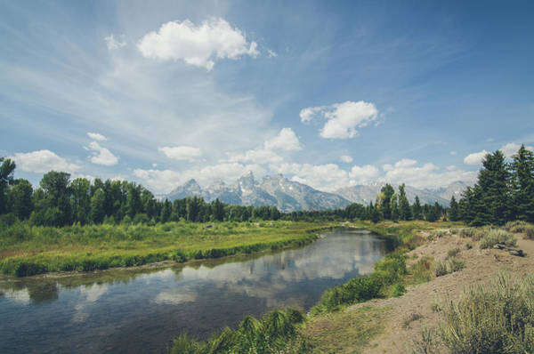 Photograph - The Glorious Grand Tetons No.2 by Margaret Pitcher