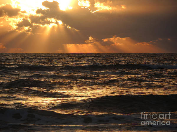 Wall Art - Photograph - The Glory Of A Sunset by Lucyna A M Green