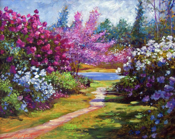 Wall Art - Painting - The Glory Of Spring by David Lloyd Glover