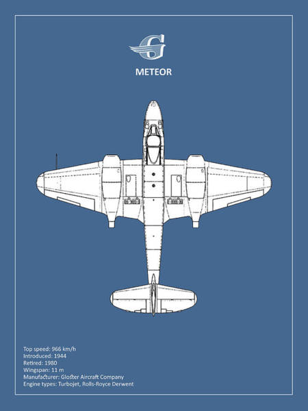 Wall Art - Photograph - The Gloster Meteor by Mark Rogan