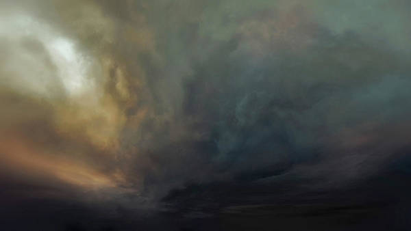 Wall Art - Painting - The Glowing Dream by Lonnie Christopher