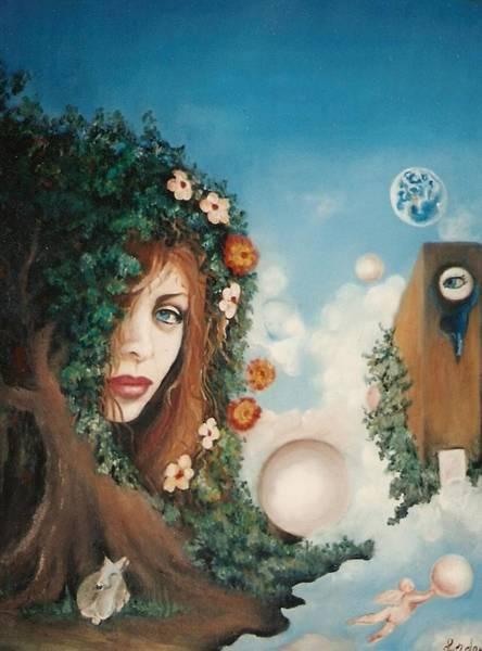 Painting - The Goddess by Jordana Sands