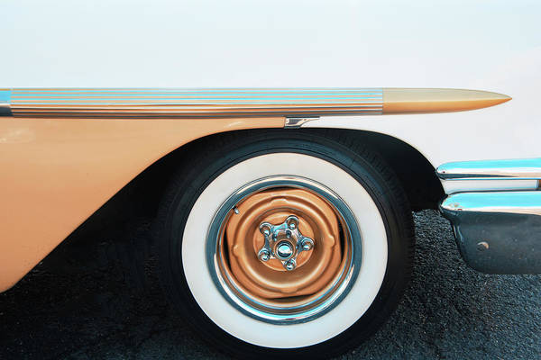 Photograph - The Golden Age Of Auto Design by Gary Slawsky