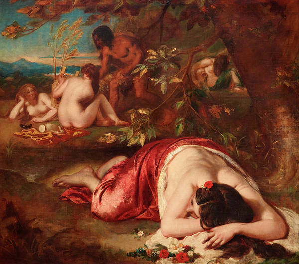 Artemis Wall Art - Painting - The Golden Age by William Etty