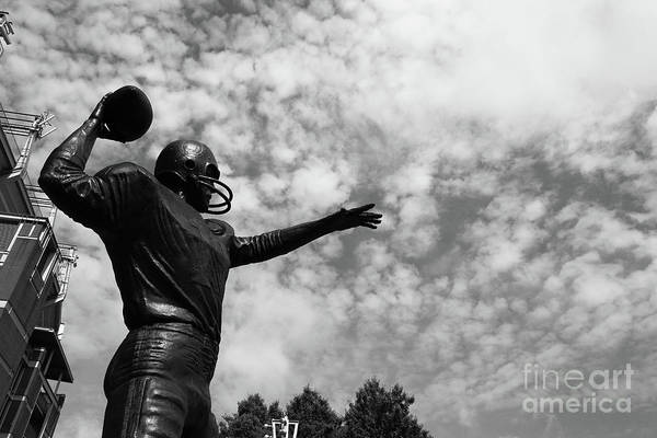 Photograph - The Golden Arm In Action Baltimore by James Brunker