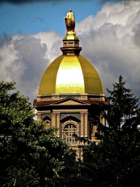 Photograph - The Golden Dome by Jenny Regan