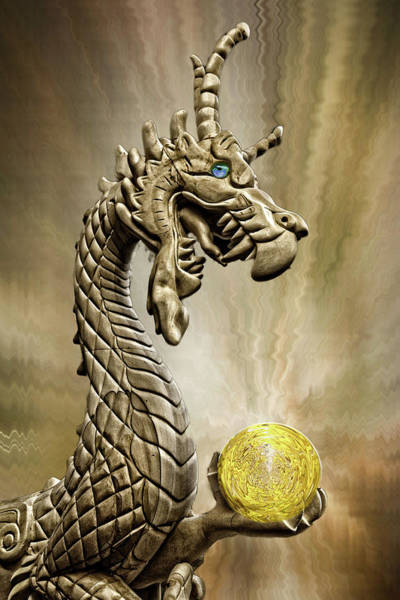 Photograph - The Golden Dragon by Wes and Dotty Weber