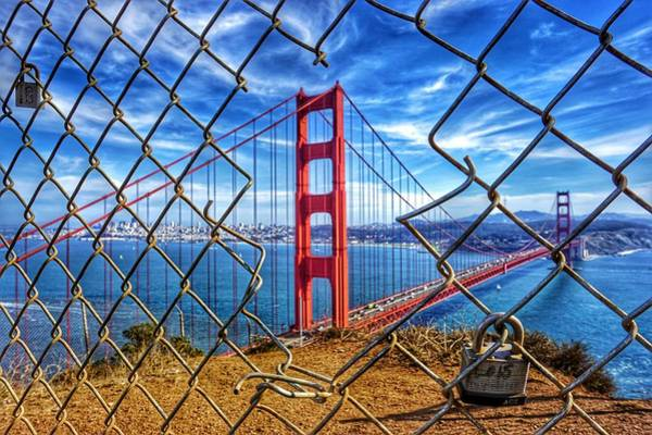 Photograph - The Golden Gate Bridge  by Alpha Wanderlust
