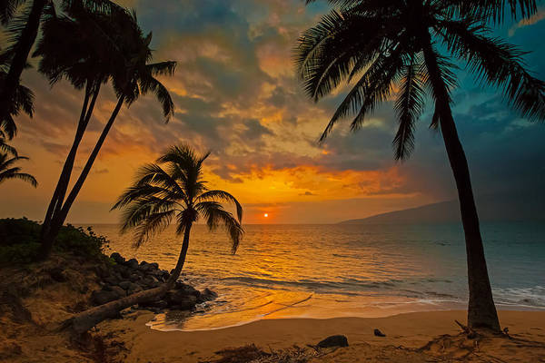 Kihei Photograph - The Golden Hour by James Roemmling