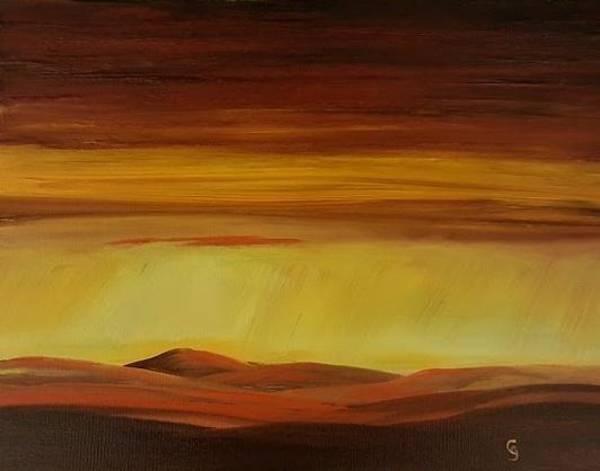 Painting - The Golden Hues     78 by Cheryl Nancy Ann Gordon
