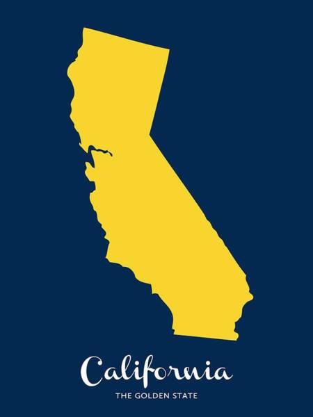 Digital Art - The Golden State by Nancy Ingersoll