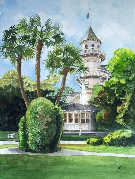 Jekyll Island Painting - The Good Life by Karen Casciani