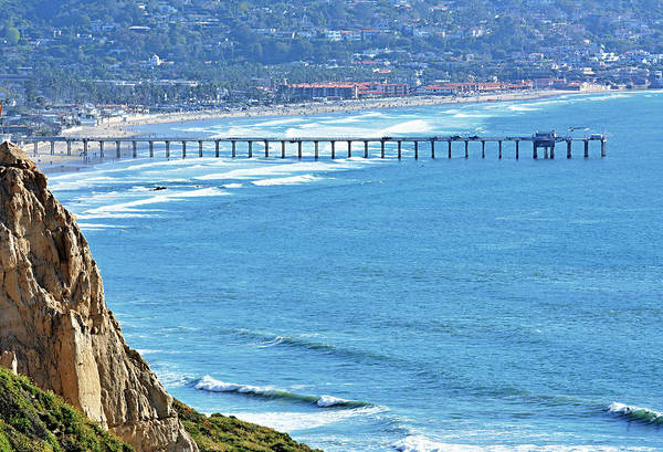 Scripps Pier Photograph - The Good Life by See My  Photos