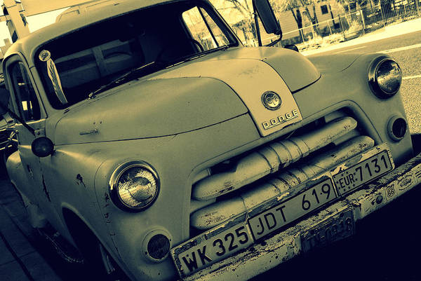 Photograph - The Good Old Days On Route66 by Susanne Van Hulst