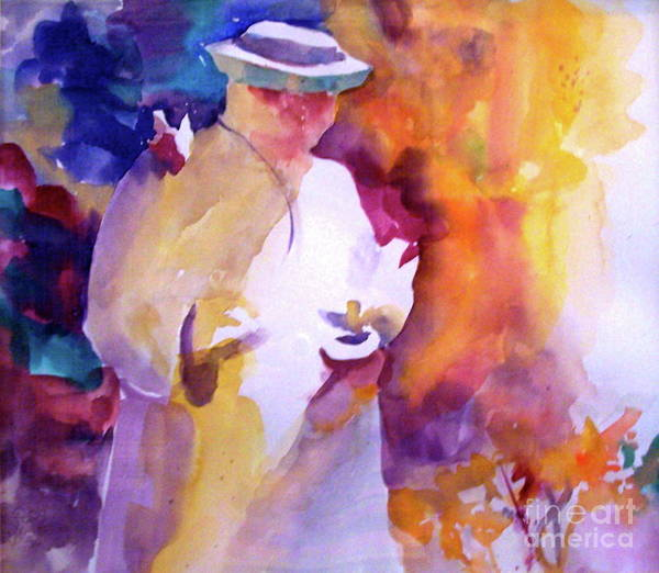 Painting - The Good Saint by Patsy Walton