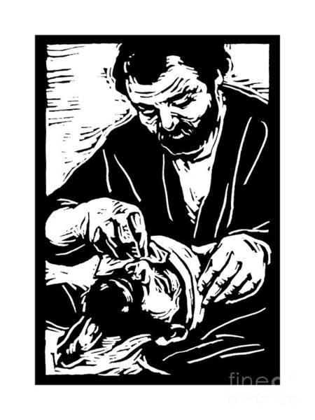 Painting - The Good Samaritan - Jltgs by Julie Lonneman