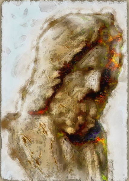 Sacrifice Mixed Media - The Good Shepherd 2 by Freddy Kirsheh