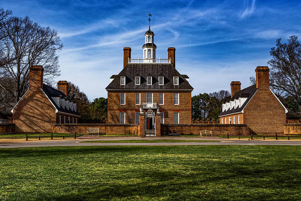 Photograph - The Governor's Palace  by Pete Federico