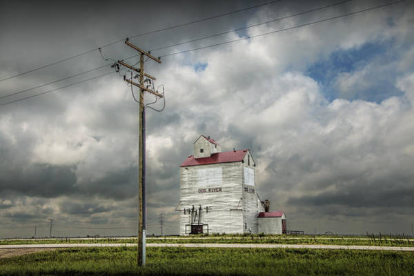 Photograph - The Grain Elevator In Dog River by Randall Nyhof