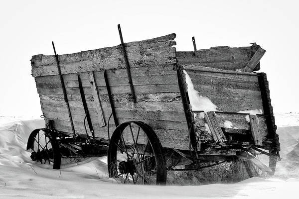 Photograph - The Grain Wagon by Bryan Smith