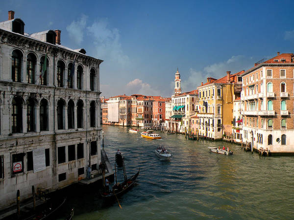 Photograph - The Grand Canal by Micki Findlay
