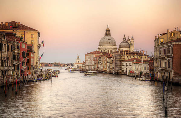 Photograph - The Grand Canal by Ryan Wyckoff
