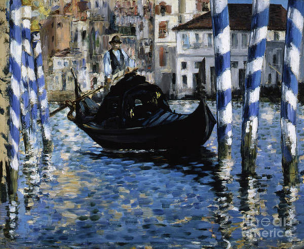 Wall Art - Painting - The Grand Canal, Venice, 1875 by Edouard Manet