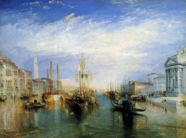 J. M. W. Turner Painting - The Grand Canal, Venice by JMW Turner