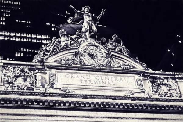 Digital Art - The Grand Central Terminal by Dan Sproul