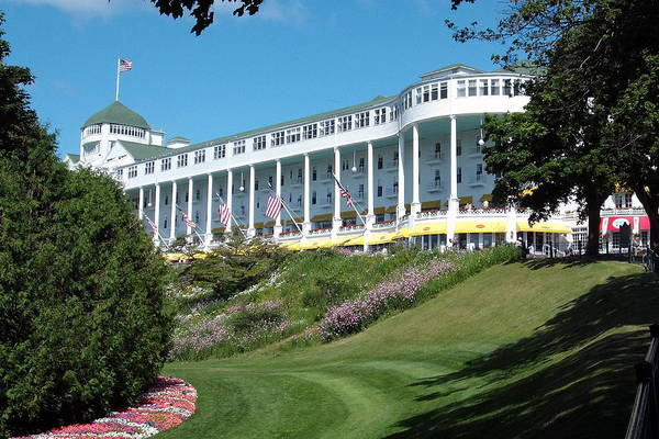 Grand Hotel Photograph - The Grand Hotel Mackinac Island by Spencer Meagher