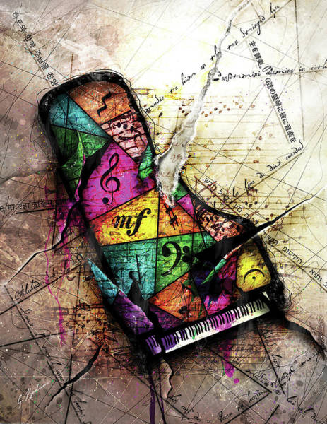 Music Instrument Digital Art - The Grand Illusion  by Gary Bodnar