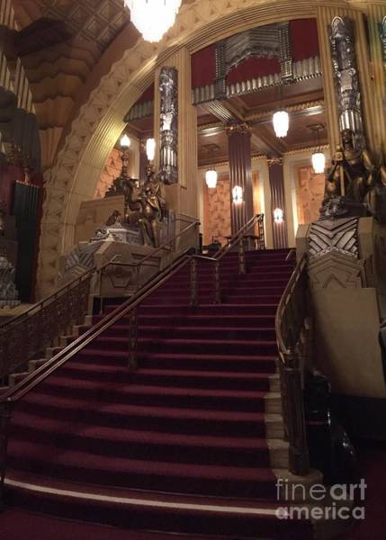 Photograph - The Grand Staircase by Jenny Revitz Soper