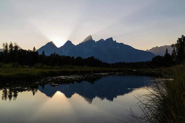 Photograph - The Grand Teton by Michael Chatt