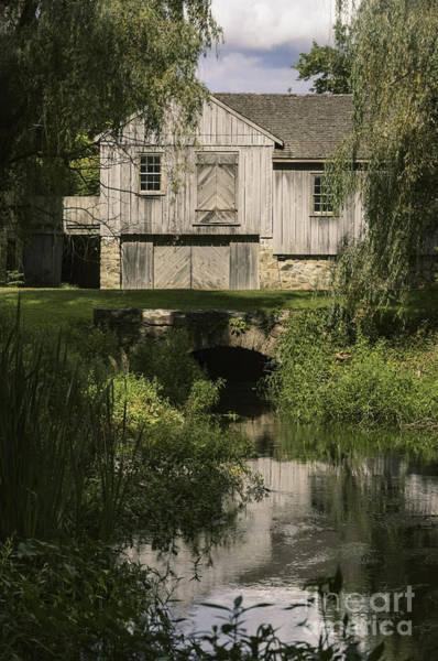 Photograph - The Gray Barn by Debra Fedchin