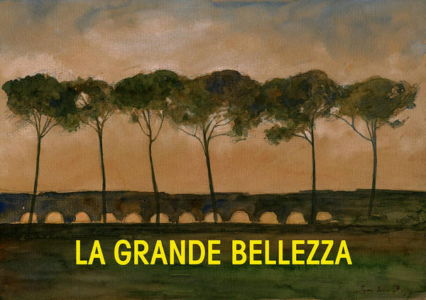 Great Painting - The Great Beauty Poster Film by Juan  Bosco