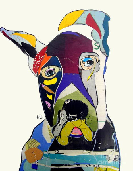 Wall Art - Painting - The Great Dane by Bri Buckley