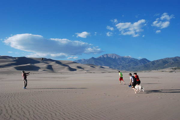 Photograph - The Great Sand Dunes National Park by Irina ArchAngelSkaya