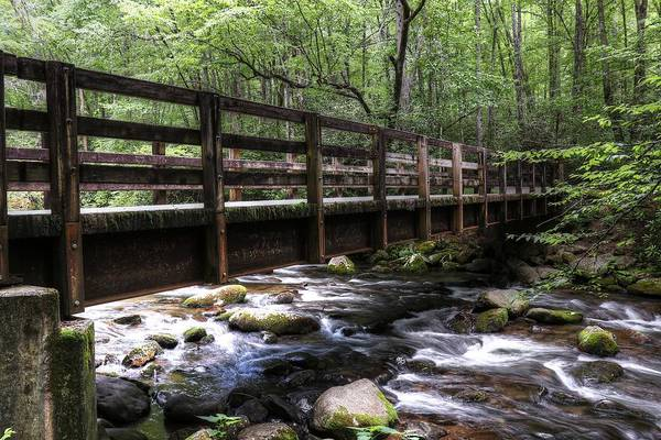 Photograph - The Great Smoky Mountains Kephart Prong Bridge by Carol Montoya