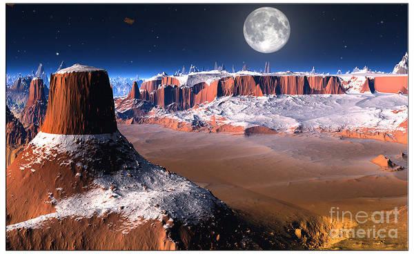 Southwest Digital Art - The Great Southwest by Heinz G Mielke