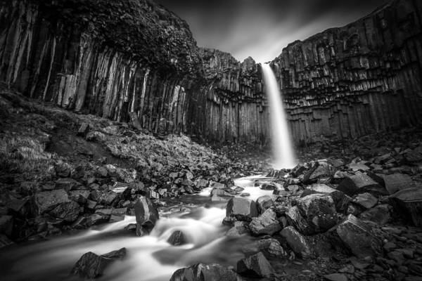 Wall Art - Photograph - The Great Svartifoss by Janne Kahila