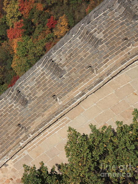 Photograph - The Great Wall Perspective by Carol Groenen