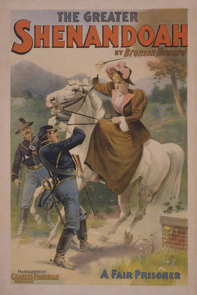 Wall Art - Mixed Media - The Greater Shenandoah 1894 by Movie Poster Prints