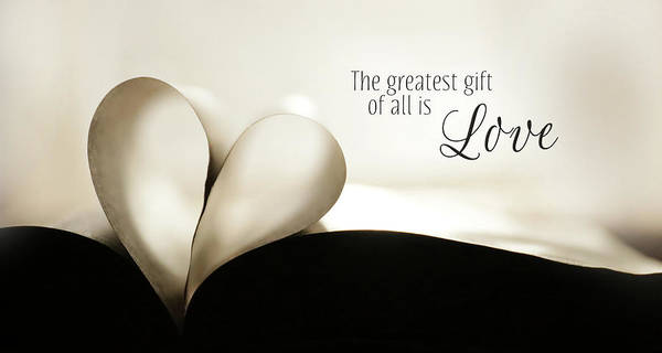Wall Art - Photograph - The Greatest Gift by Lori Deiter