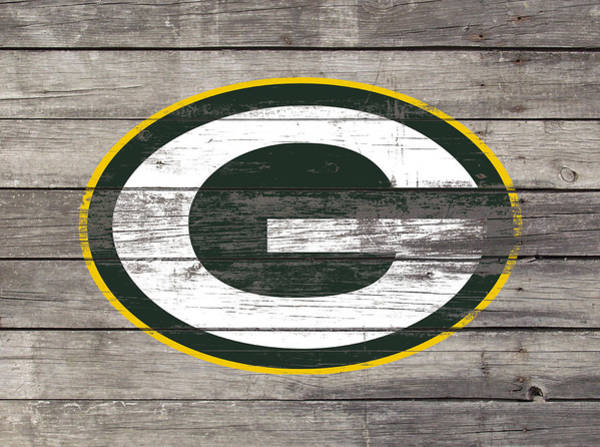 Aaron Rodgers Mixed Media - The Green Bay Packers 3i    by Brian Reaves