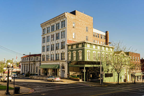 Photograph - The Green Building On The Corner by Sharon Popek