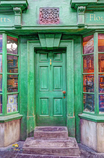 Photograph - The Green Door by Jim Thompson