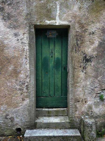 Wall Art - Photograph - The Green Door by Joseph Smith